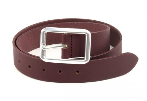 ESPRIT Clrd Basic Belt W80 Bordeaux Red