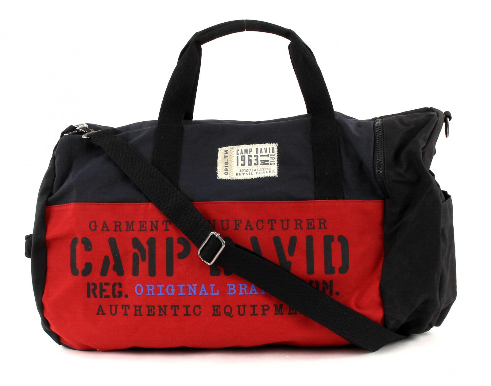 CAMP DAVID Camden Bay Travel Bag Blue