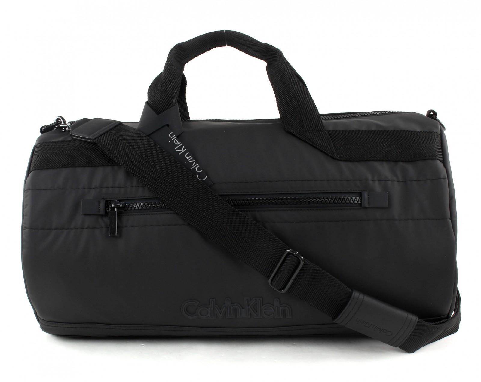 calvin klein sac de voyage metro weekender black ebay. Black Bedroom Furniture Sets. Home Design Ideas