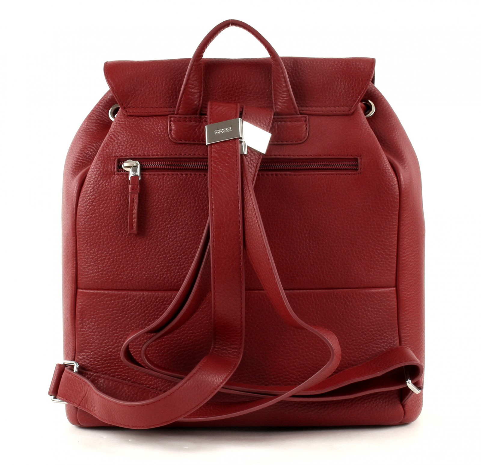 Bree Backpack Faro 4 Brick Red