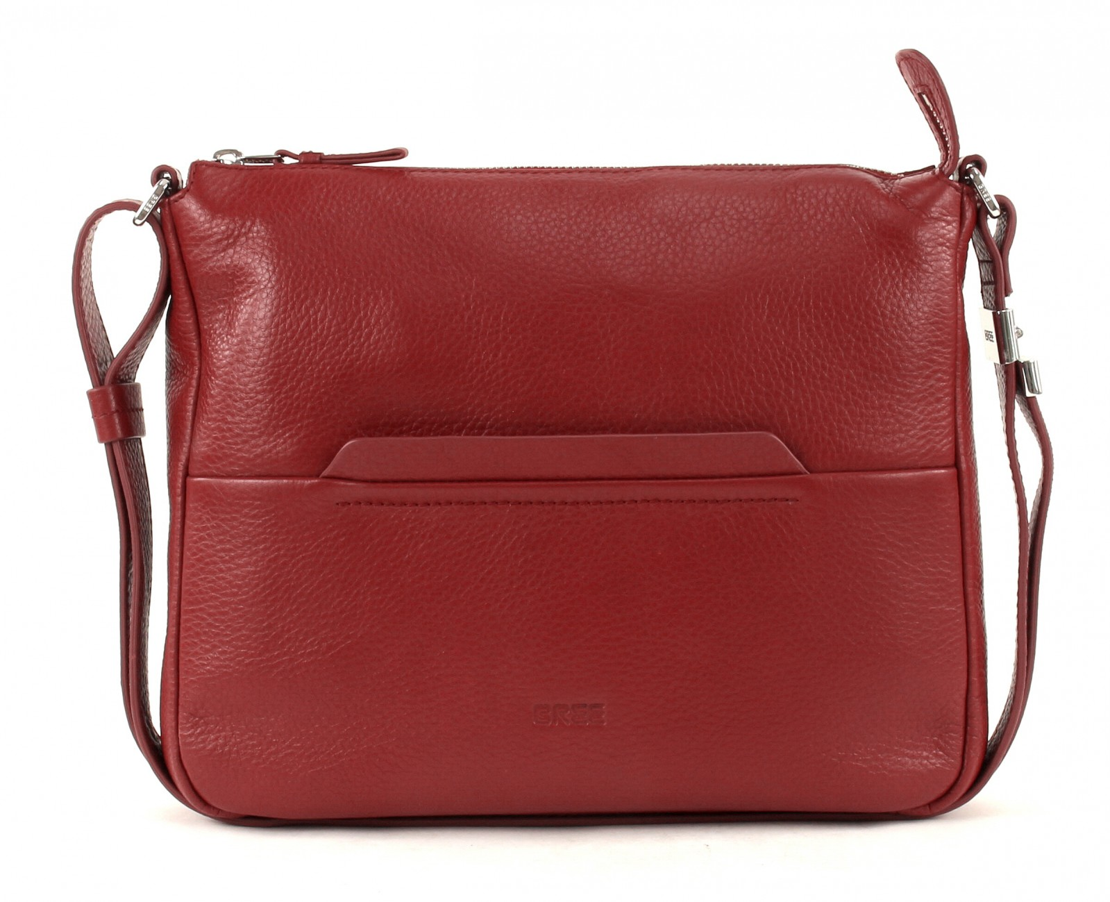 Bree Cross Body Bag Faro 2 Shoulder M Brick Red