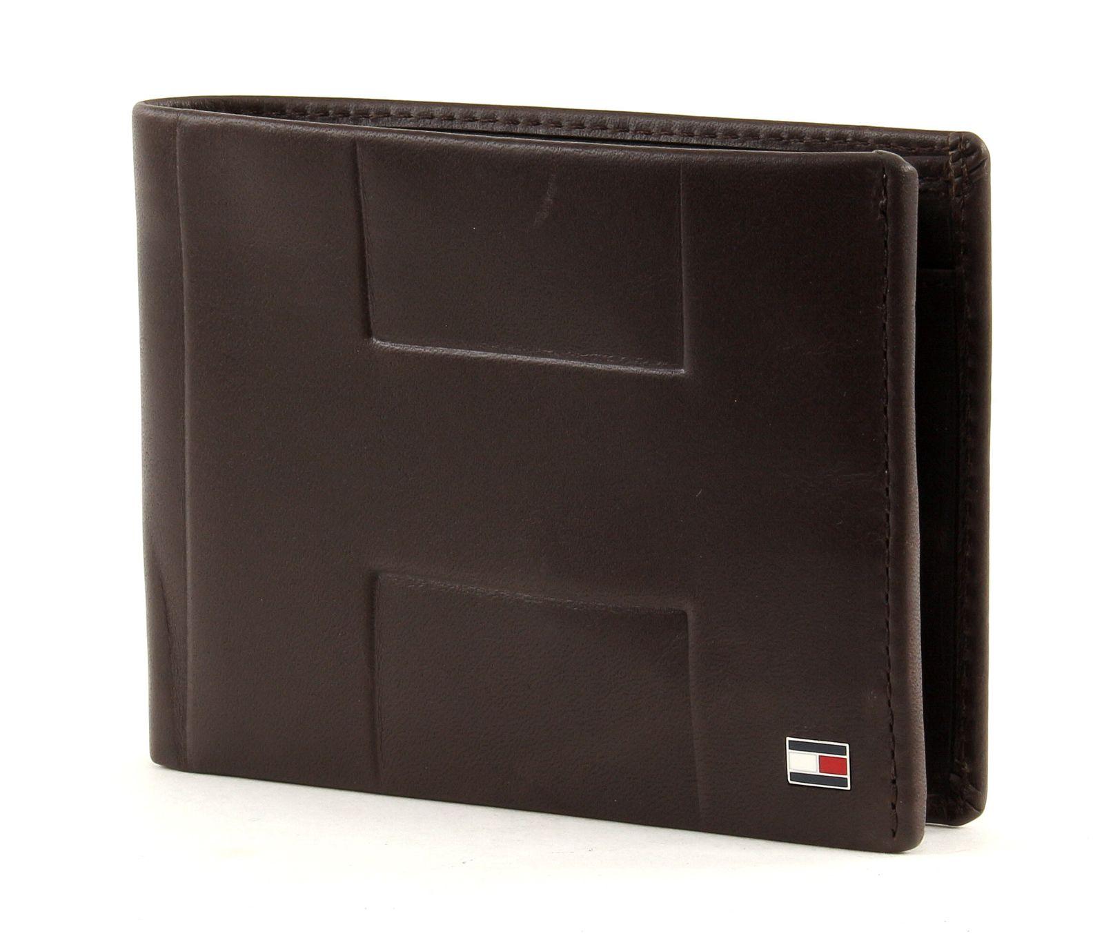 tommy hilfiger th emboss extra cc and coin pocket leder. Black Bedroom Furniture Sets. Home Design Ideas