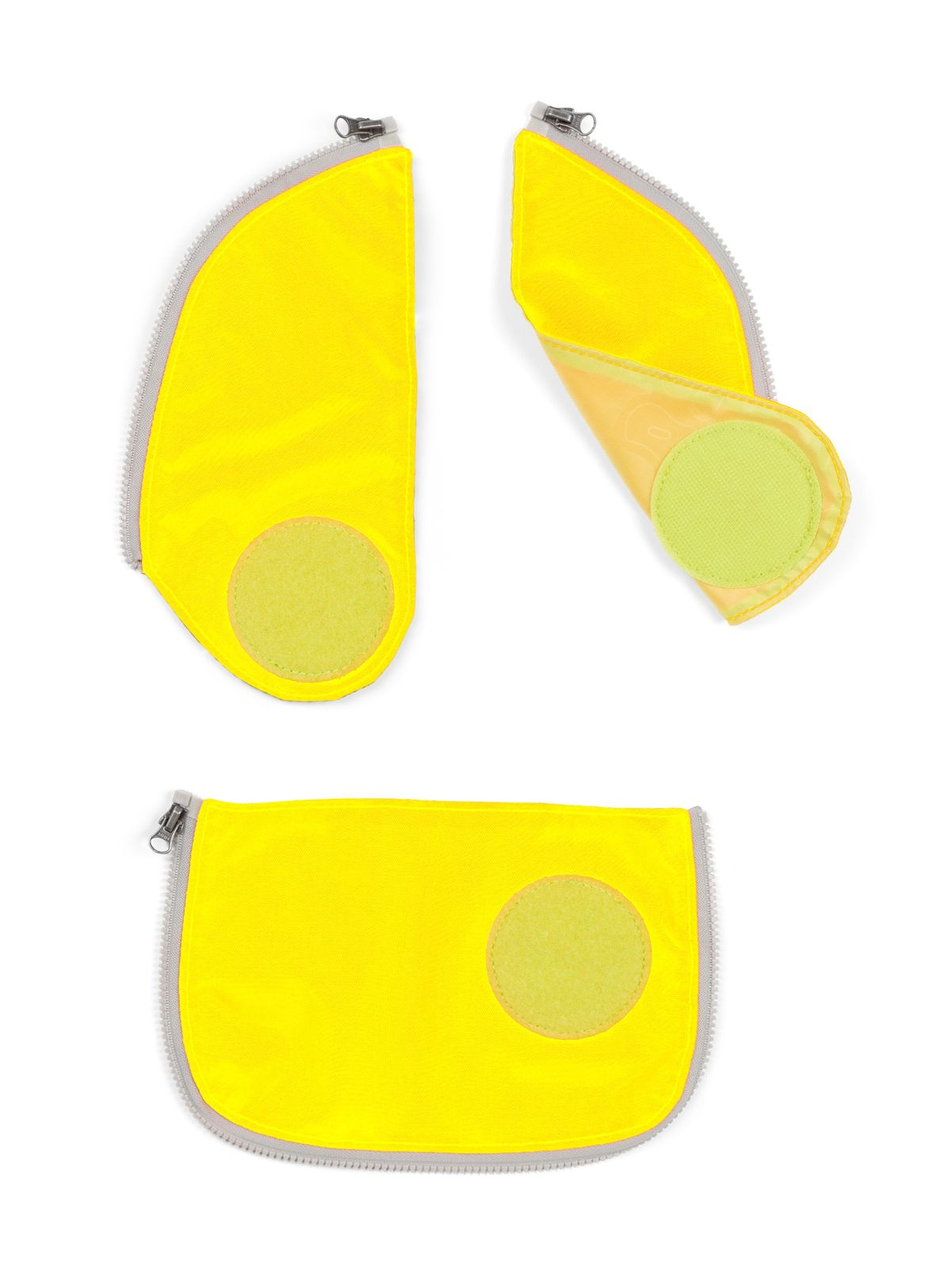 ergobag Cubo Safety Set 3-teilig (Für Cubos Ab 2015 / 2016) Yellow