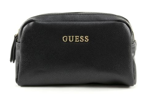 GUESS Isabeau Double Zip Hold All Black
