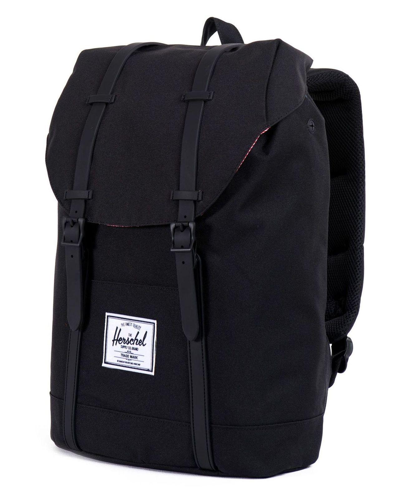 herschel backpack retreat black. Black Bedroom Furniture Sets. Home Design Ideas
