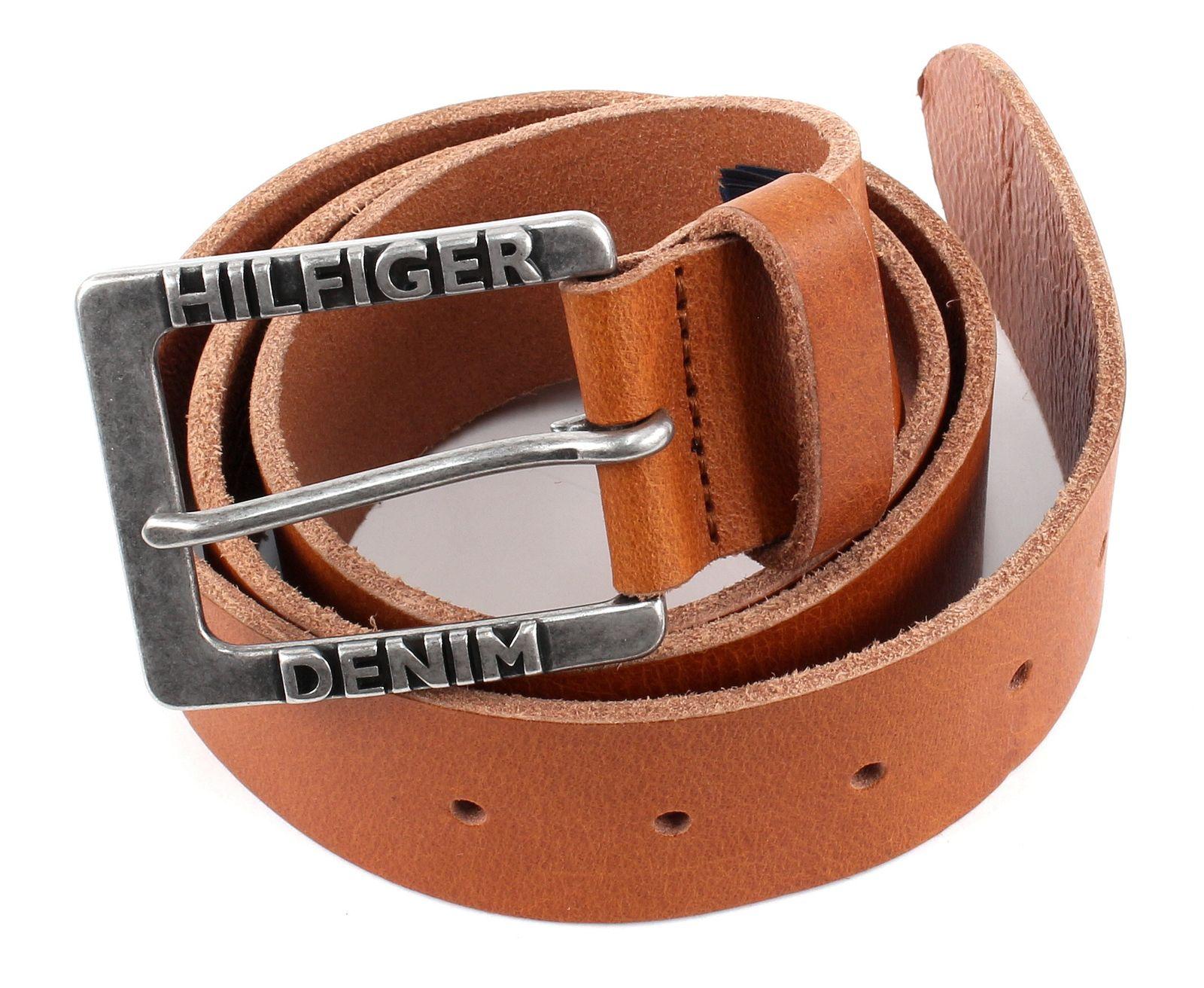 tommy hilfiger denim belt original thd w95 tan. Black Bedroom Furniture Sets. Home Design Ideas