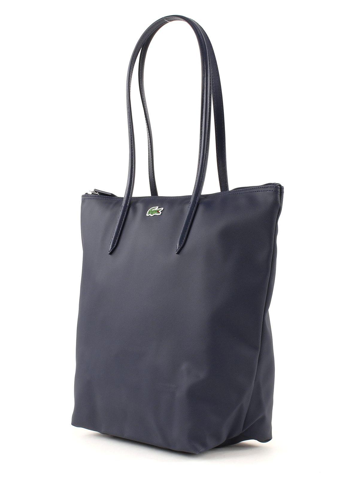 LACOSTE L.12.12 Concept Vertical Shopping Bag Eclipse