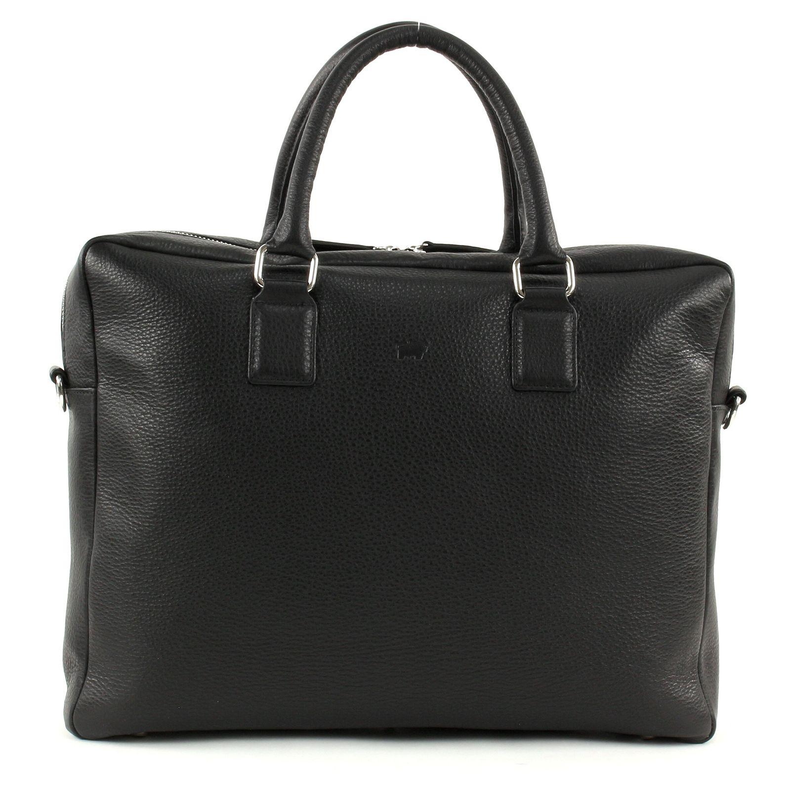 Braun Büffel Savona Business Bag Black