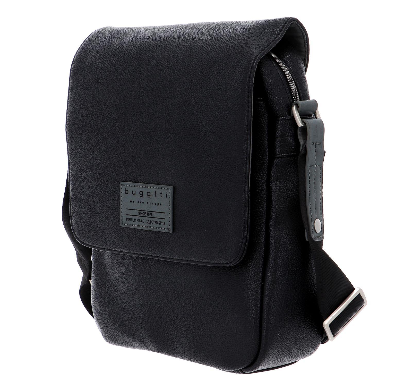 bugatti Moto D Shoulder Bag M Black