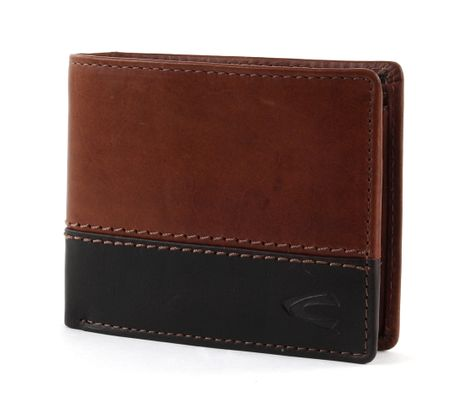 camel active Nevada Small Wallet Cross Cognac
