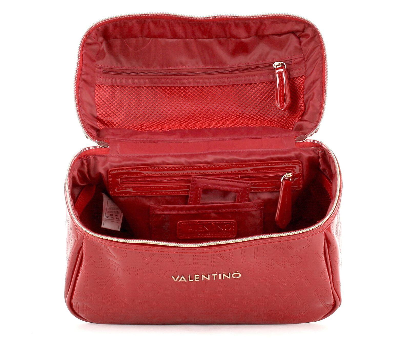 valentino alma beauty case tasche kosmetiktasche rot rosso. Black Bedroom Furniture Sets. Home Design Ideas