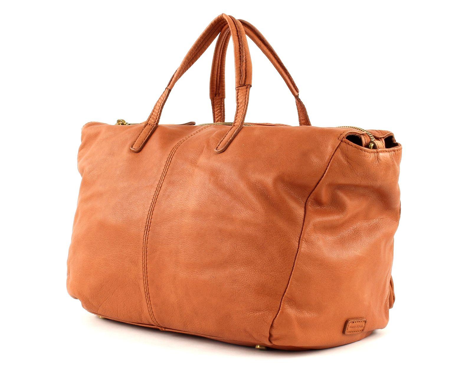marc o polo shoulder bag washed shopper large cognac. Black Bedroom Furniture Sets. Home Design Ideas