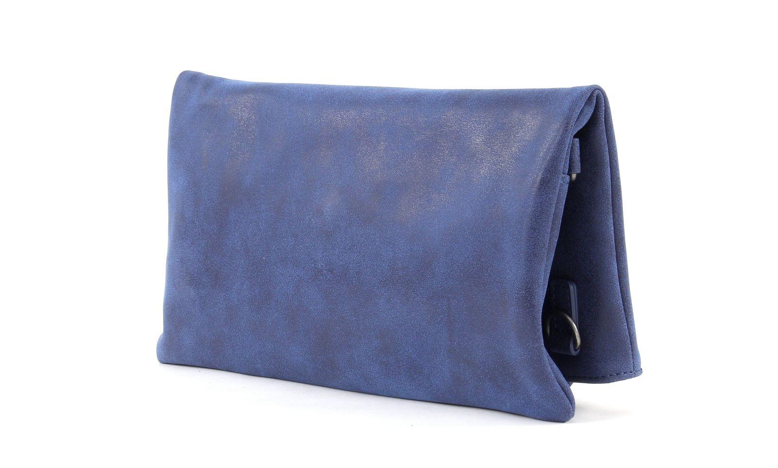 fritzi aus preu en ronja classic vintage tasche umh ngetasche clutch blau damen ebay. Black Bedroom Furniture Sets. Home Design Ideas