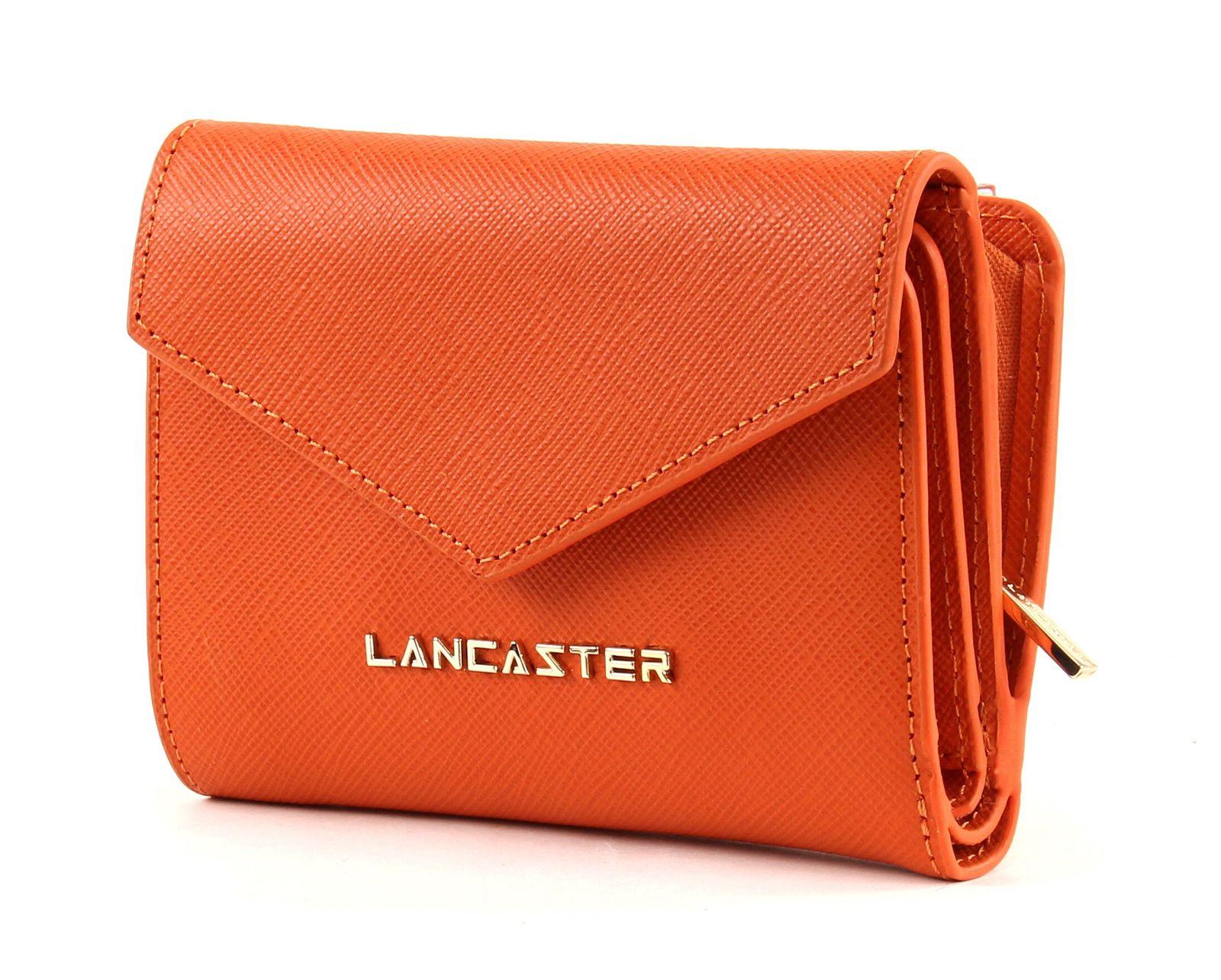 LANCASTER Adeline Flap Wallet Orange