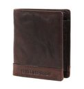 SPIKES & SPARROW Bronco Wallet Small Quadrat Dark Brown online kaufen bei modeherz