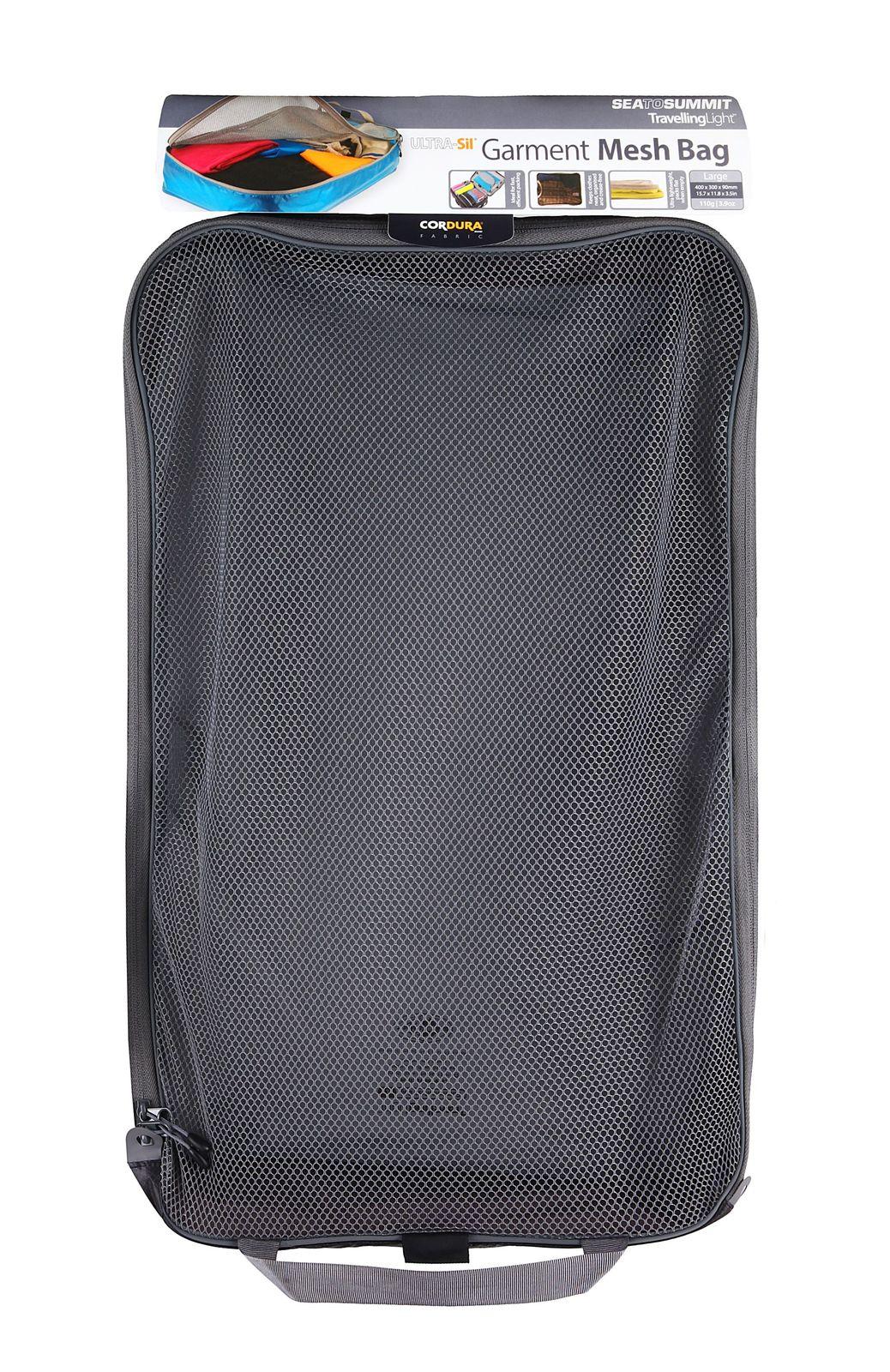 Sea To Summit TravellingLight Garment Mesh Bag Large Black / Grey