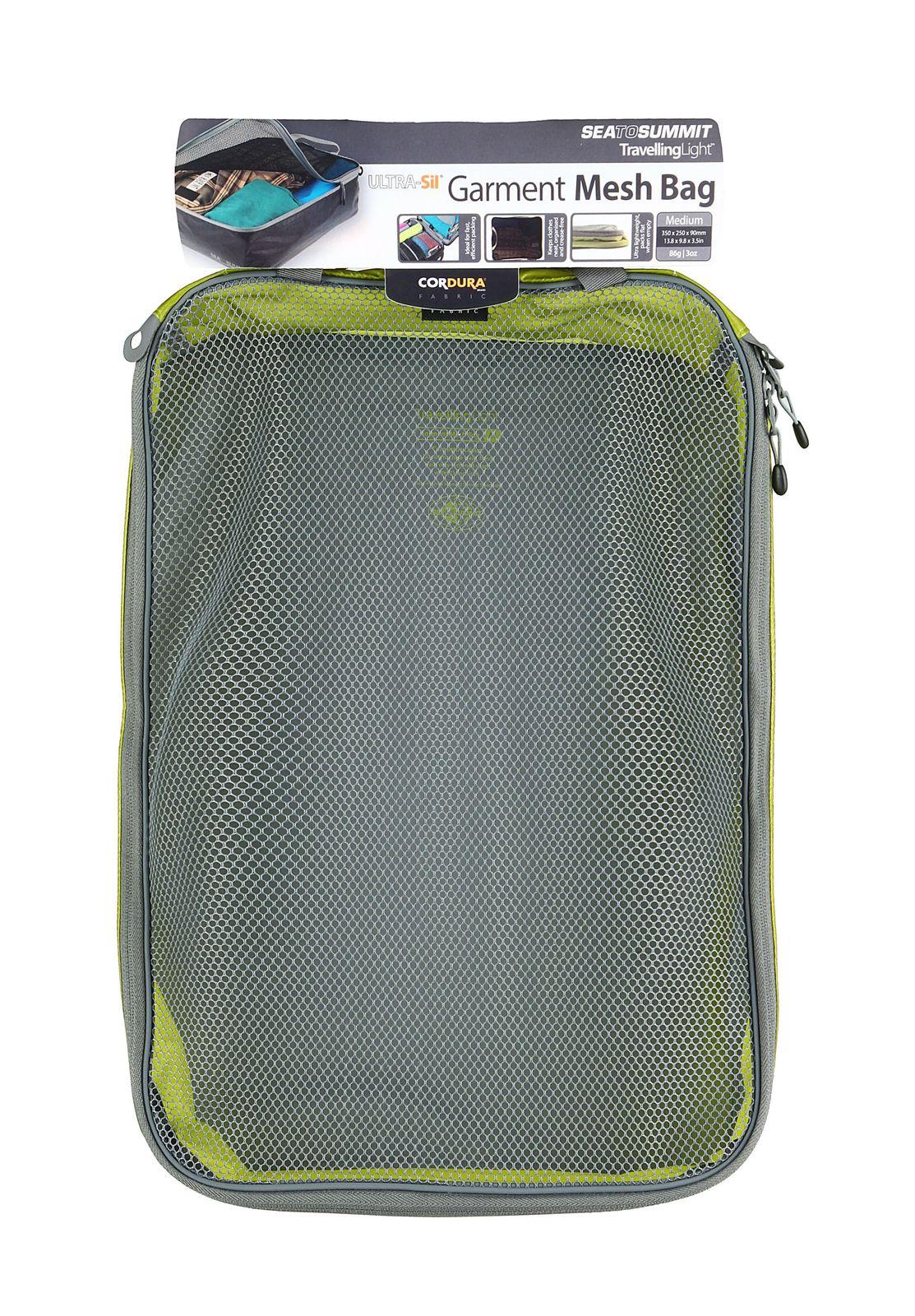 Sea To Summit TravellingLight Garment Mesh Bag Medium Lime / Grey
