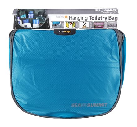 Sea To Summit TravellingLight Hanging Toiletry Bag Large Blue   Grey 220df6493bb58