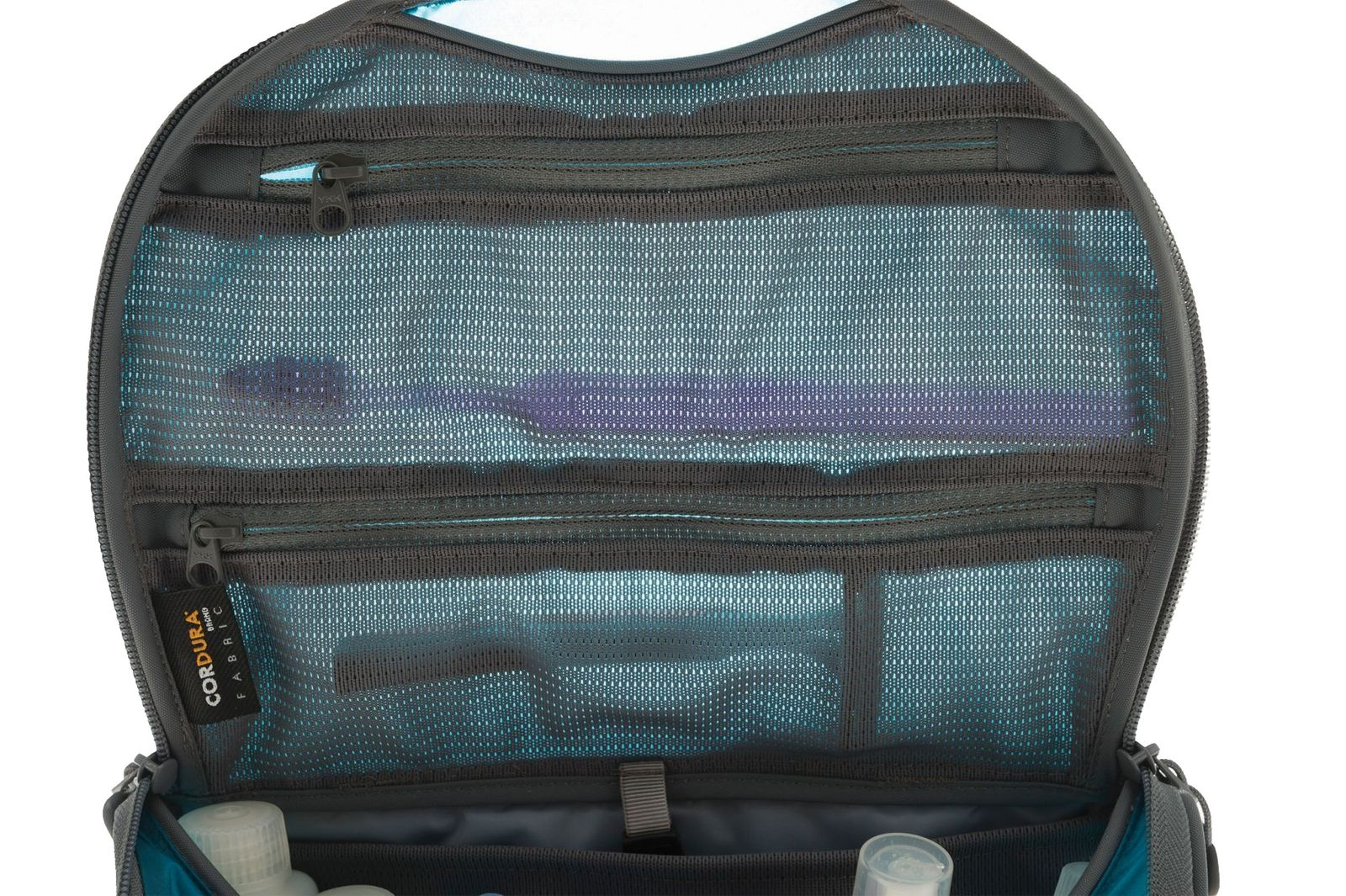 ... Summit TravellingLight Hanging Toiletry Bag Small Blue   Grey   26 919790489eaa7