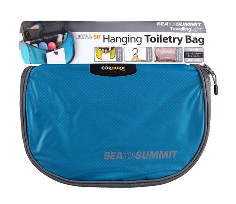 Sea To Summit Kulturtasche TravellingLight Hanging Toiletry Bag Small Blue    Grey c323e3ca0690d