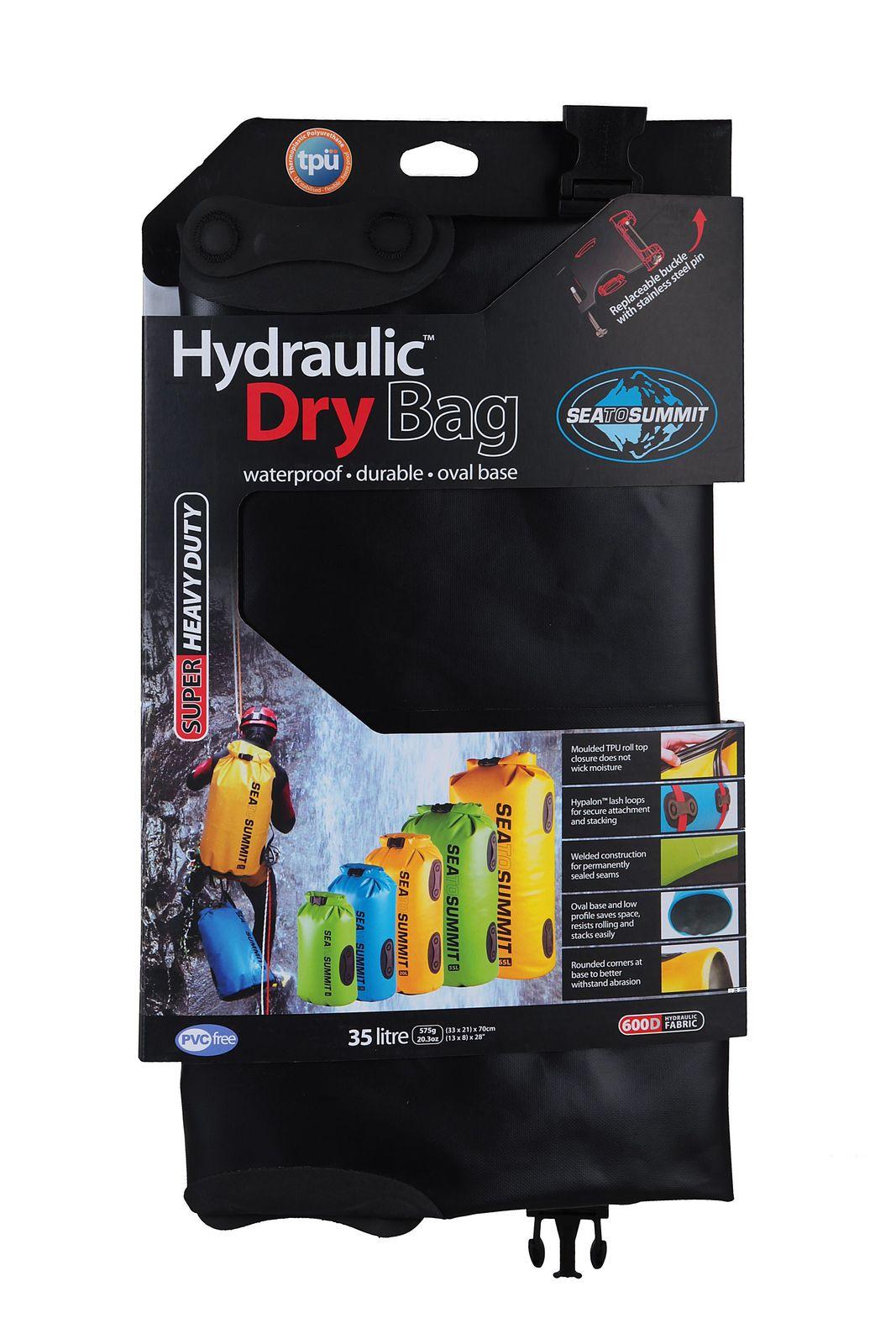 Sea To Summit Hydraulic Dry Bag 35 L Black