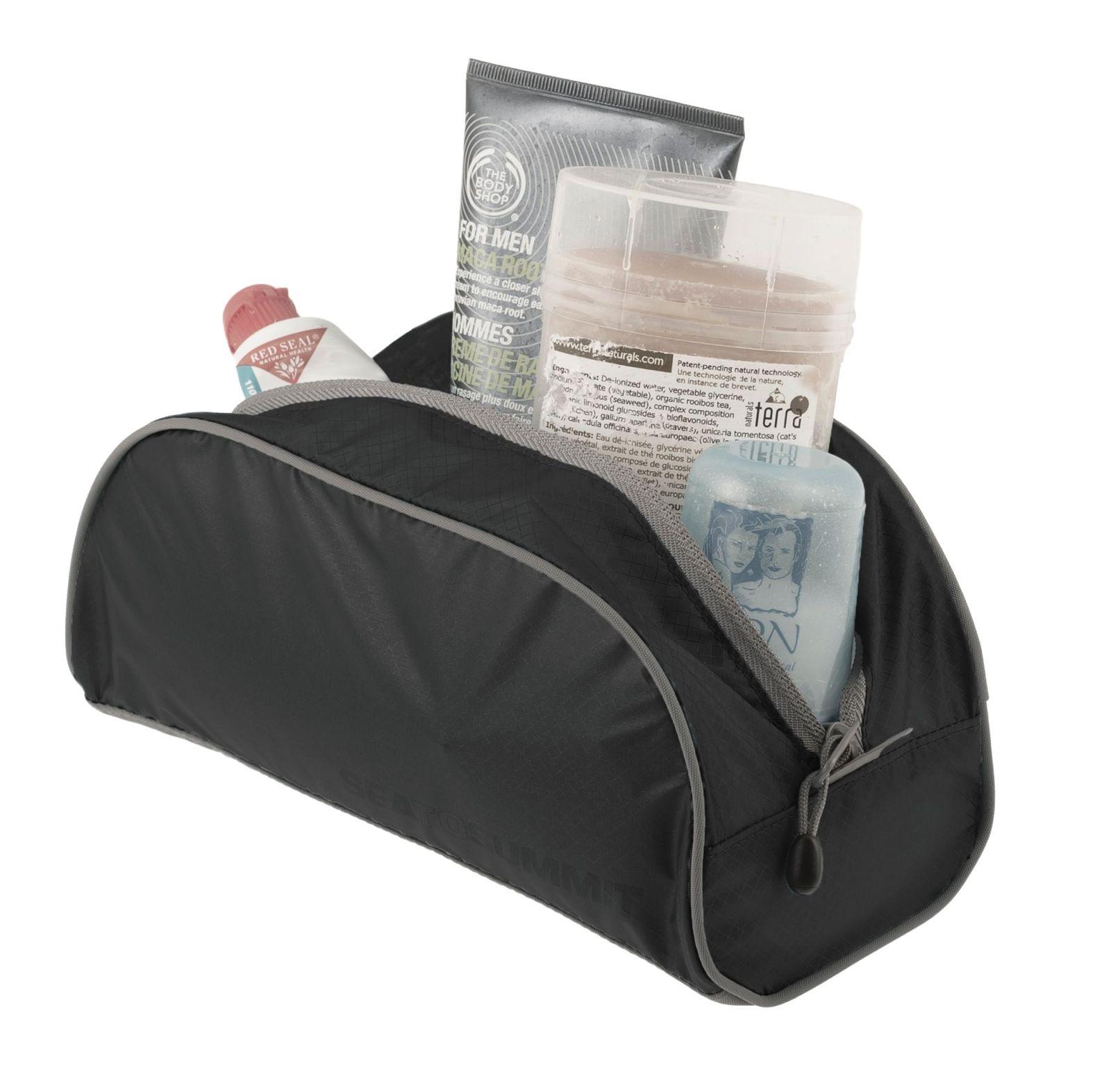 Sea To Summit Toiletry Bag TravellingLight Small Black   Grey ea449a11e7f87