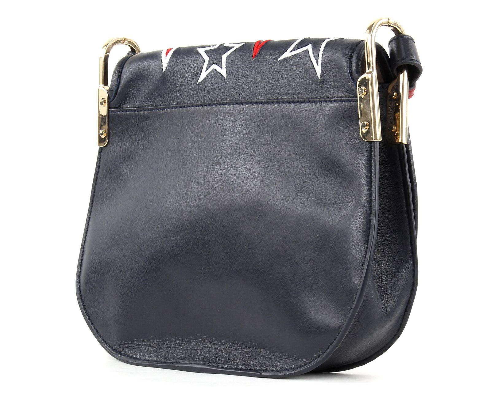 tommy hilfiger cross body bag iconic saddle tommy navy stars. Black Bedroom Furniture Sets. Home Design Ideas