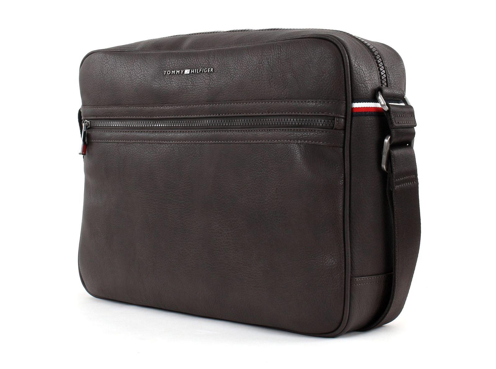 tommy hilfiger cross body bag essential messenger coffee bean. Black Bedroom Furniture Sets. Home Design Ideas