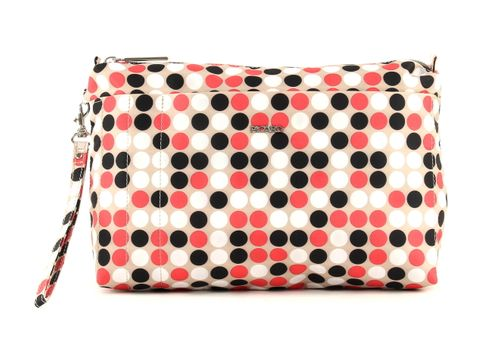 PICARD Switch It Cosmetic Pouch Dots Braun / Schwarz / Rot