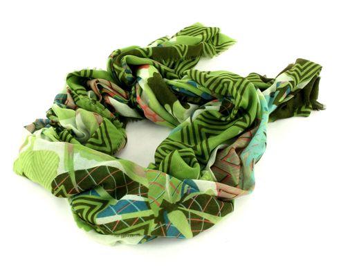 Oilily Botanic Pop Shawl Nori Green