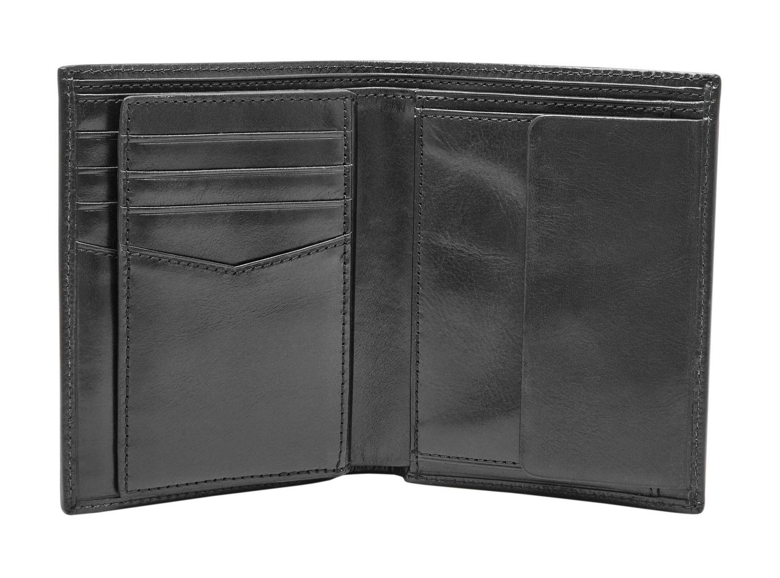 FOSSIL Rian International Combination Bifold RFID Black