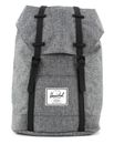 Herschel Retreat Backpack Raven Crosshatch / Black Rubber online kaufen bei modeherz