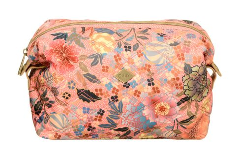 Oilily Ajisai Blossom M Toiletry Bag Shell Pink Pink / Beige