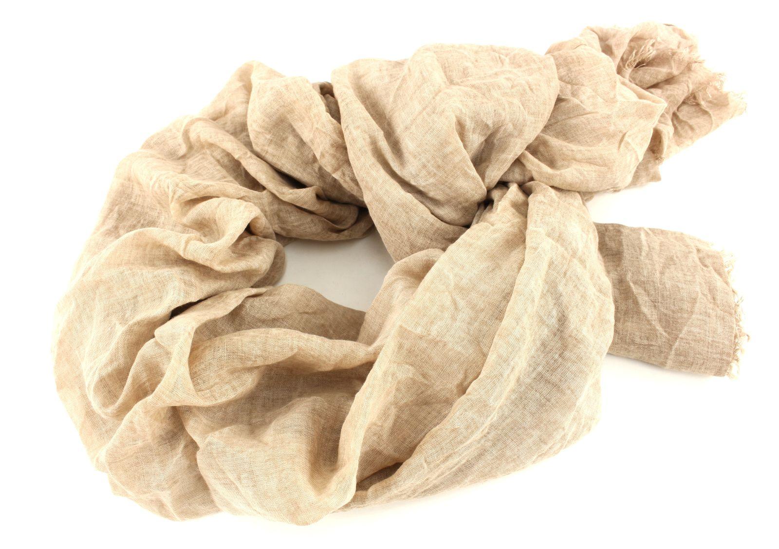esprit shawl washed out scarf beige. Black Bedroom Furniture Sets. Home Design Ideas