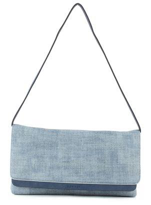 Clutch im Metallic-Look für Damen Light Blue Esprit fKrIHQ