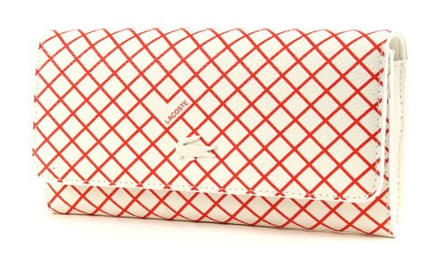 LACOSTE Mary All in One Orange Lattice Weiß / Rot