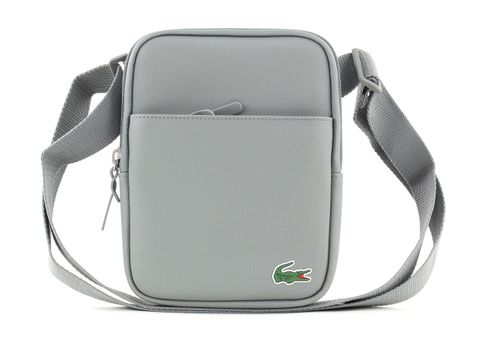 LACOSTE L. 12. 12 Concept Small Flat Crossover Bag Griffin