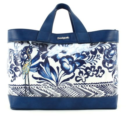 Desigual Bols Hawai Turner Shopping Bag Navy