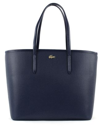 LACOSTE Chantaco Shopping Bag Peacoat