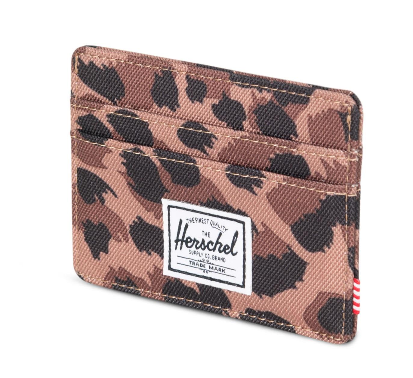 Herschel Charlie Rfid Wallet Leopard