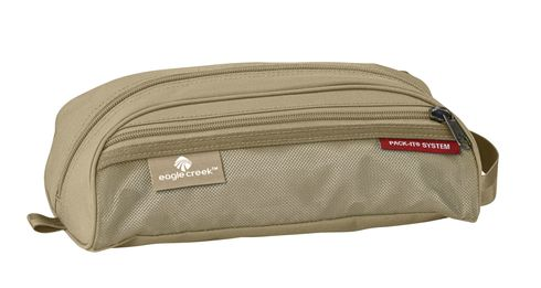 eagle creek Pack-It Quick Trip Toiletry Kit Tan Beige