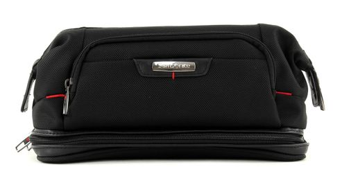 Samsonite Pro-DLX 4 Toilet Bag Large Opening Black Schwarz
