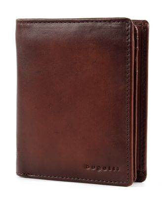 bugatti Domus RFID Wallet With Flap High Cognac