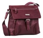 TOM TAILOR Rina PU Shoulderbag with Flap Wine online kaufen bei modeherz