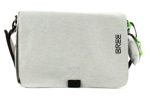 BREE Punch 62 Shoulder Bag Light Grey Grau