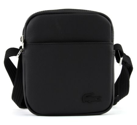 1b1103b8 LACOSTE Men's Classic XS Vertical Camera Bag Black