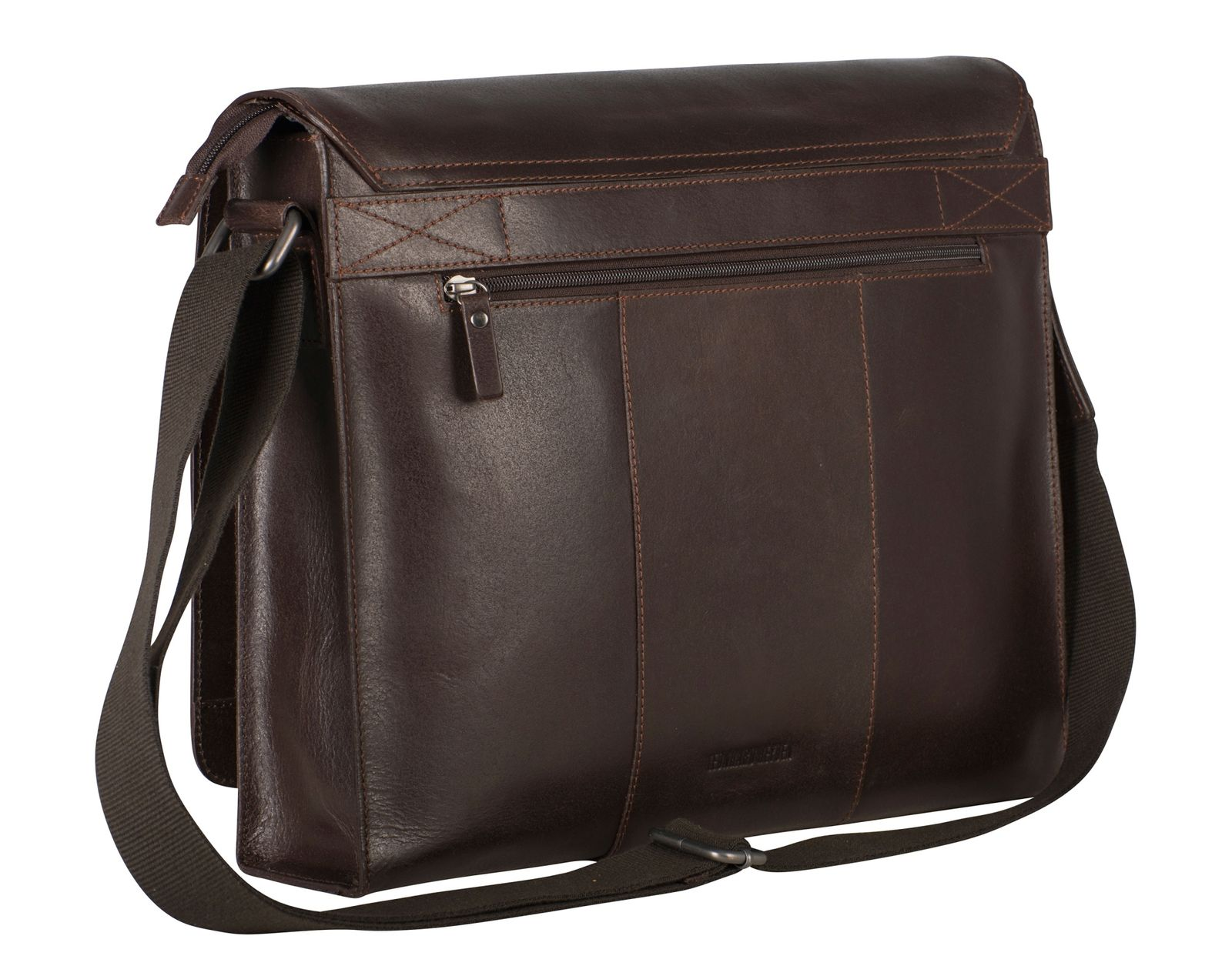 Leonhard Heyden Dakota Messenger Bag L Brown Homyped Heidi B 23 Lbrown More