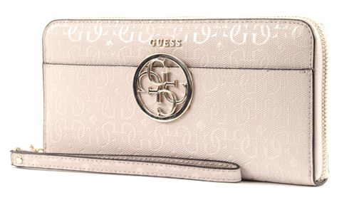 GUESS Kamryn SLG Large Zip Around Stone