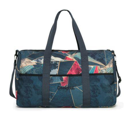 Desigual Dark Denim Gym Bag Legion Blue
