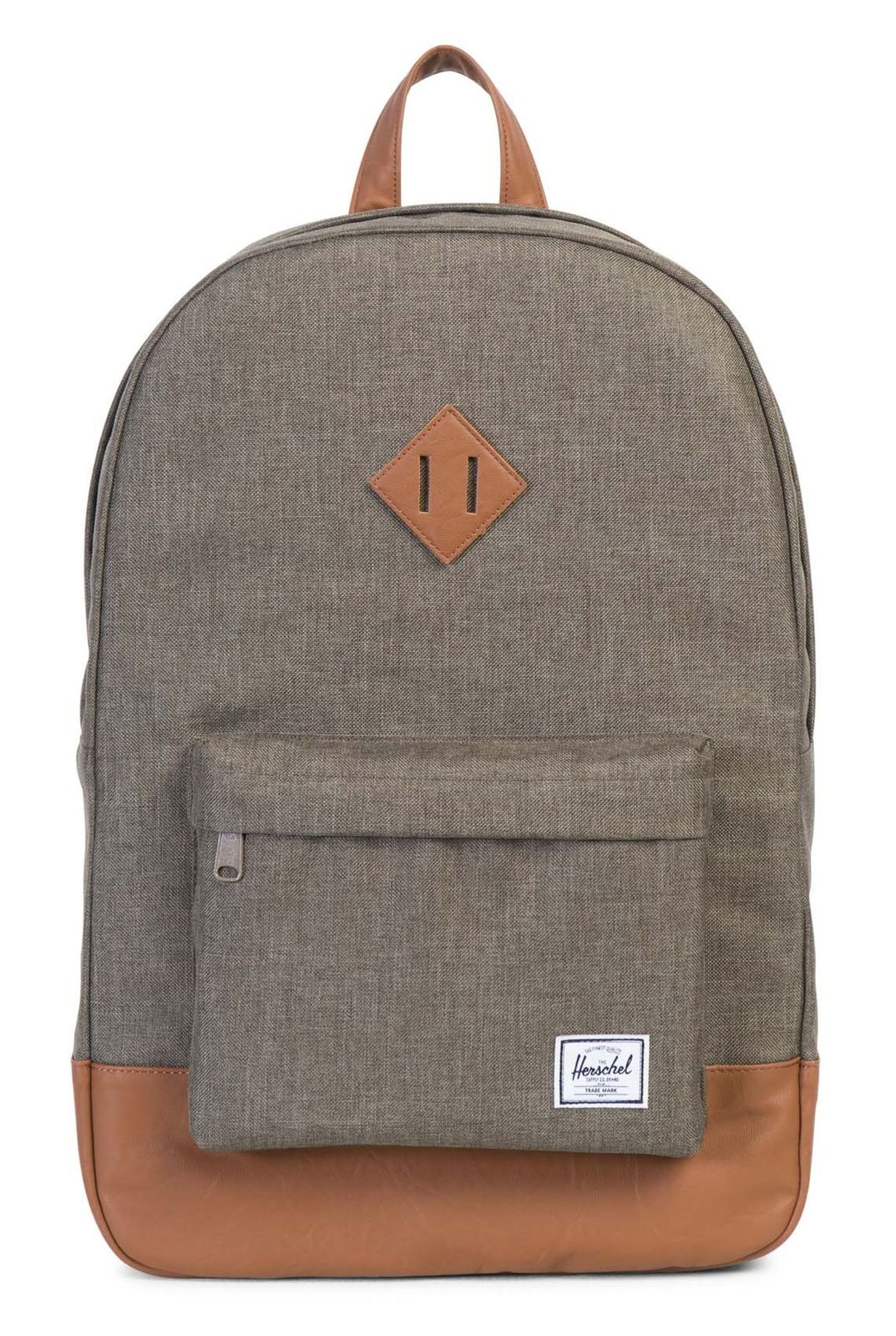 37c0eb1ec2ffd Herschel Heritage Backpack Canteen Crosshatch   Tan Synthetic Leather